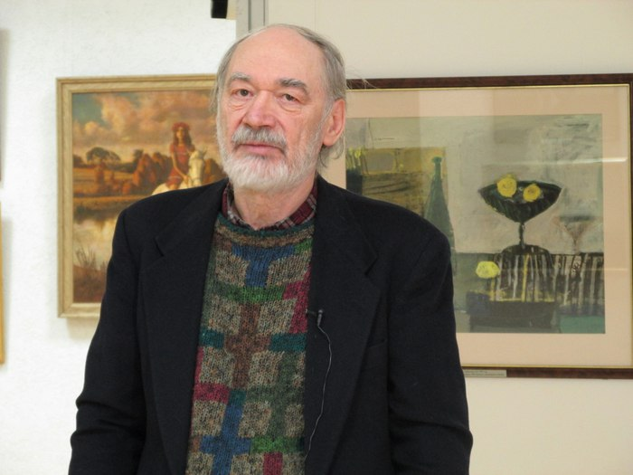 Soviet Russian artist Yan Yulianovich Kryzhevsky, born 8 April 1948