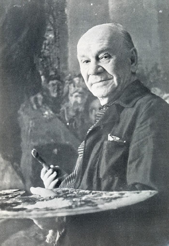 Soviet artist Boris Ioganson 1893-1973