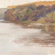 Summer Landscape. Oil on canvas