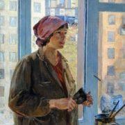 Svetlana Ivannikova (1941). Painter. 1970