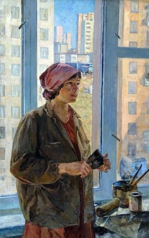 Svetlana Ivannikova (1941). Painter. 1970