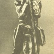 T. Sokolova. A. Pushkin. 1970. Bronze