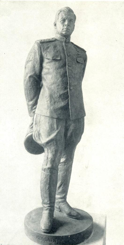 V. Bogolyubov. Portrait of Marshal of the Soviet Union L.A. Govorov. 1945
