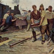 V. Dikov. First subbotnik