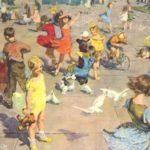 Soviet children life rule posters