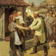 V. Pravdin. In liberated Poland