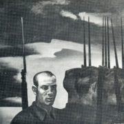 V. Zanuzin. Junior Sergeant F. Zemskov. Canvas, oil. 1984-1985
