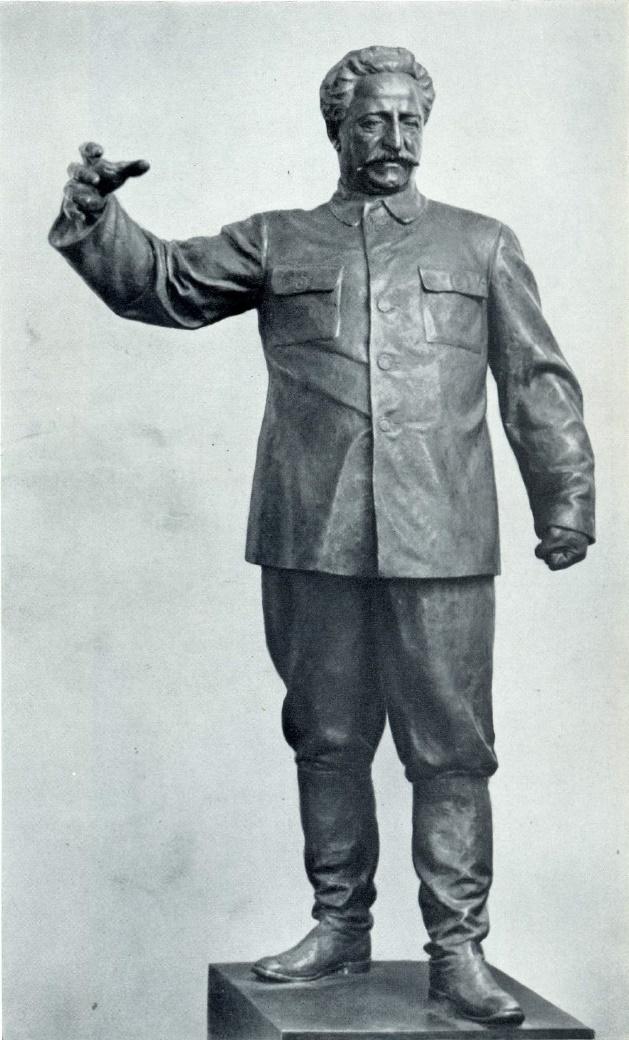 V.I. Ingal. Sergo Ordzhonikidze. Bronze. 1937
