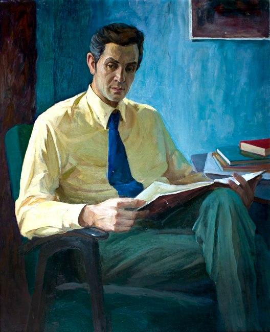 V.N. Telyatov, portrait. 1974
