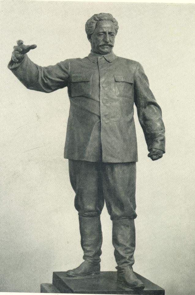 V.Ya. Bogolyubov, V.I. Ingal. Sergo Ordzhonikidze. 1937. Gysum