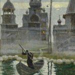 Soviet portrait painter Valery Habarov