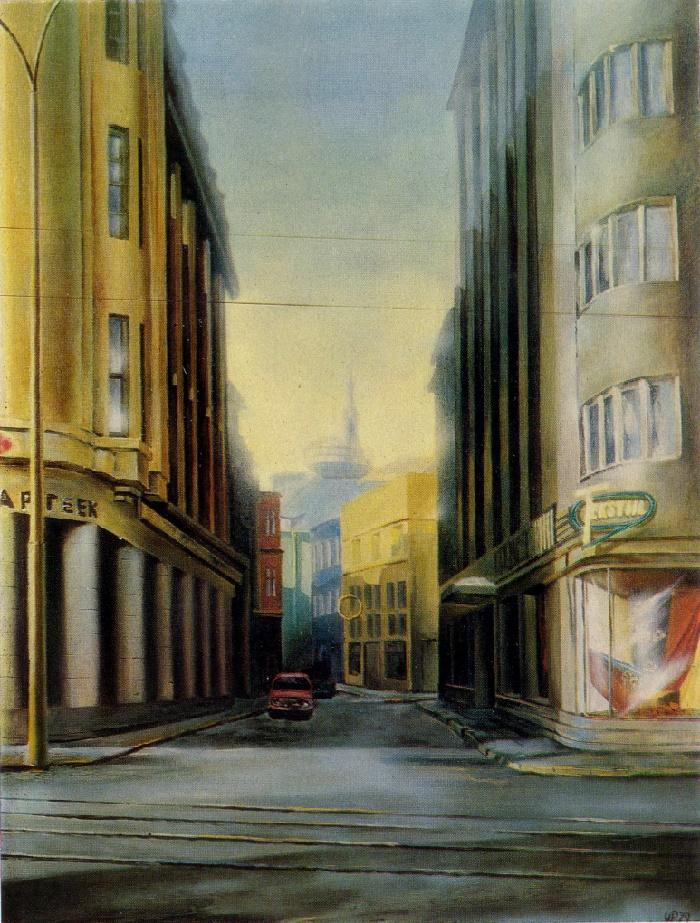 W.L. Pedanik. Väike-Karja Street. 1978