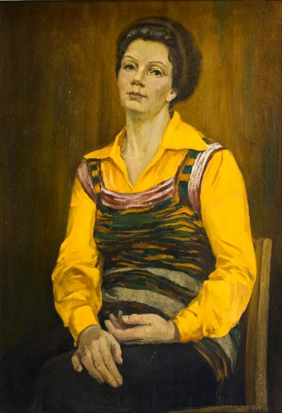 Woman's portrait. 1981
