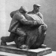 Workers. 1972. Gypsum. R.G. Sanadze