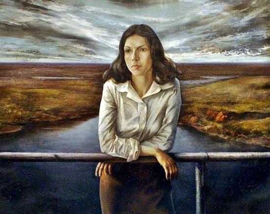 Soviet Russian artist Yan Yulianovich Kryzhevsky