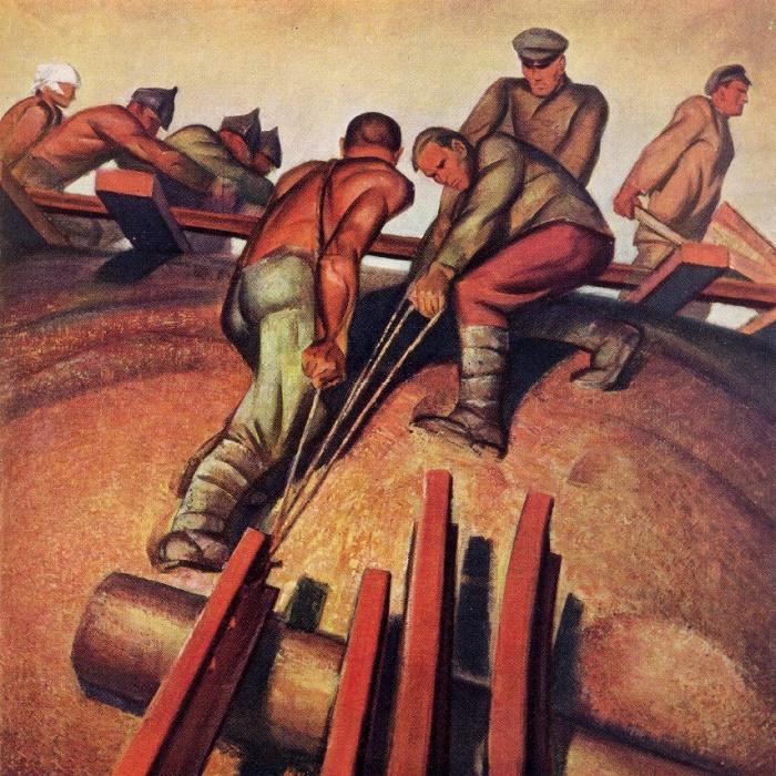 Yu. Tsirkunov. Komsomol of 1920s