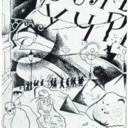Yu.P. Annenkov. Illustration for the poem of Blok 'Twelve'. Ink. 1918