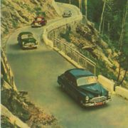 ZIM cars on one of the roads of the Caucasus