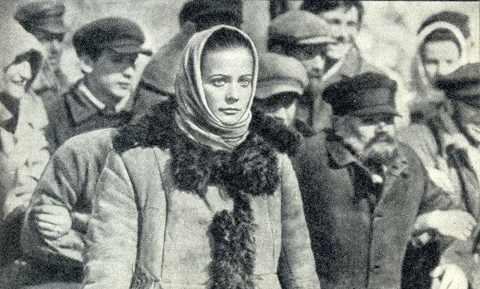 As Olga Vysheslavtseva in the film 'Avalanche'. 1977