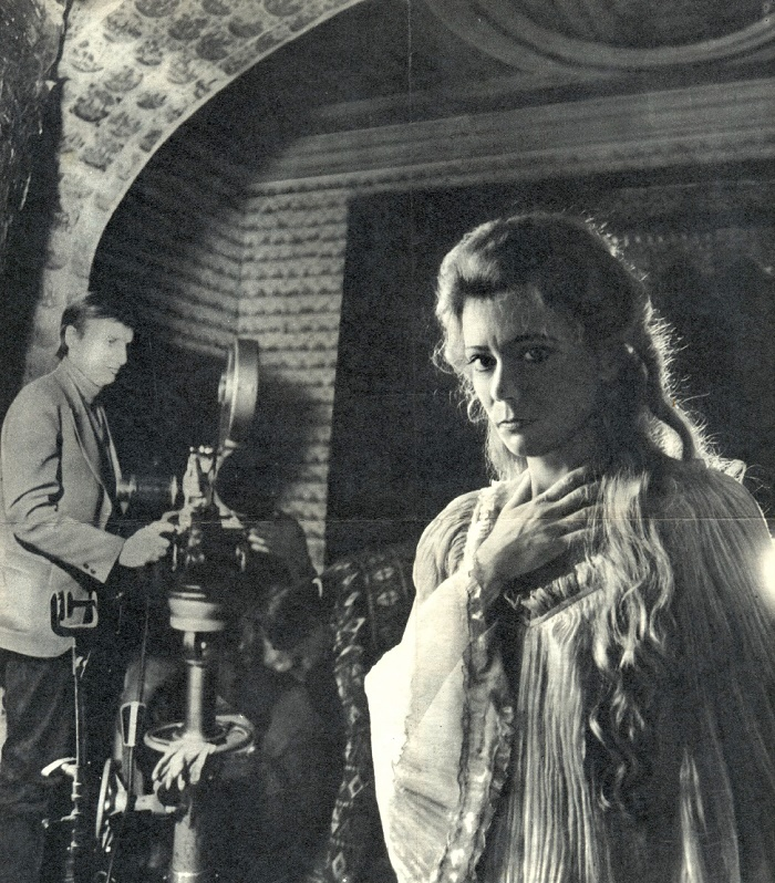 During filming