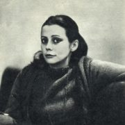 Theater actress Natalia Saiko