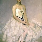 Alla Yakovlevna Shelest. 1949