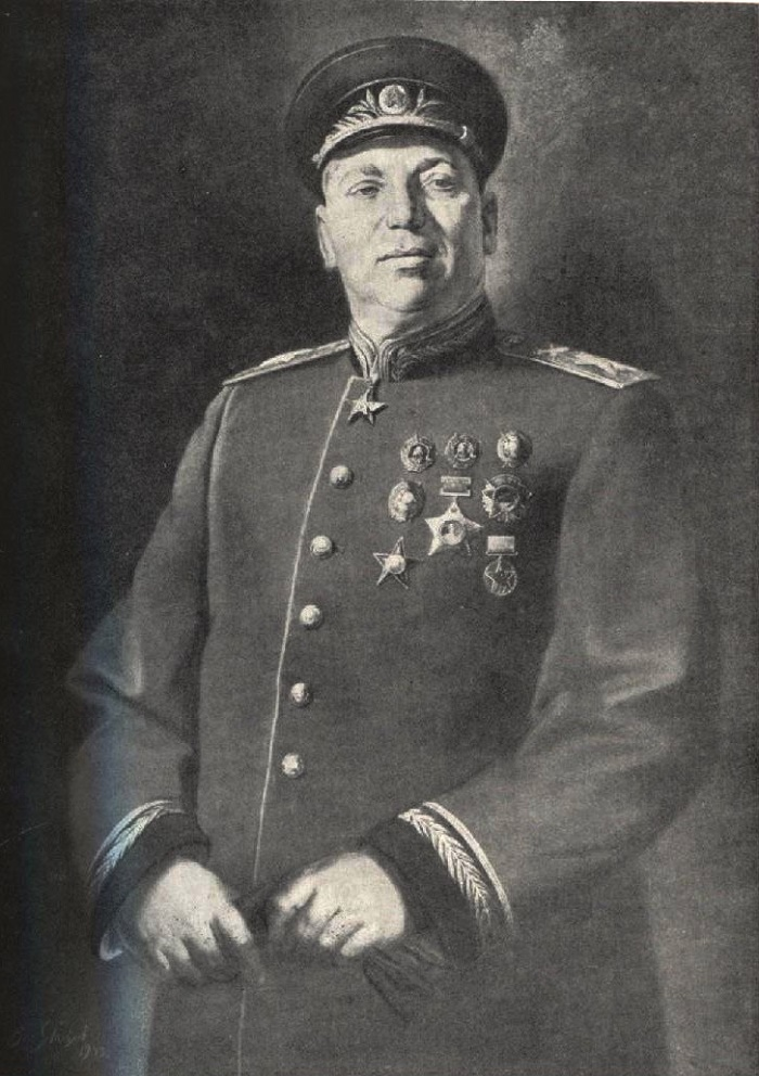 Chief Marshal of Artillery NN Voronov, 1943