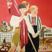 Children of October, be ready to continue and complete the great cause of Lenin, the cause of world communism. 1933