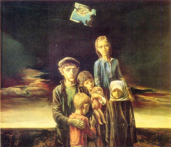 E.A. Belogurov. Children of war. 1979