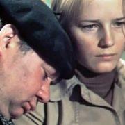 Evgeny Leonov and Natalya Egorova in the film 'Elder Son'. 1975