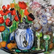 Flowers and jug. 1984
