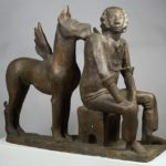 Soviet sculptor Adelaida Germanovna Pologova 1923-2008