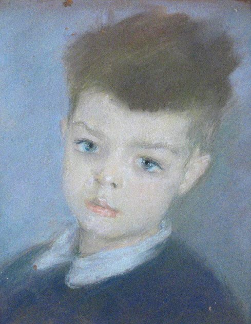 Son's portrait. 1945
