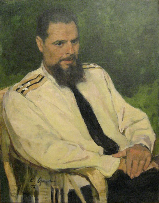Ya.B. Rabinovich (Portrait of sailor). 1957