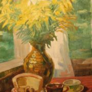 Yellow bouquet. 1976