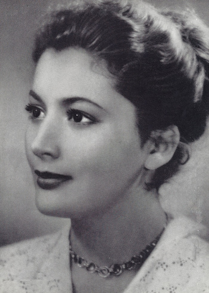 Cinema and theater actress Kyunna Ignatova