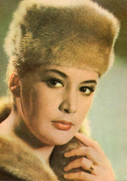 Gorgeous Soviet theater and film actress Kyunna Ignatova