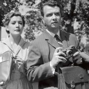 Kyunna with her husband, actor Vyacheslav Sokolov in the film 'And again the morning', 1960