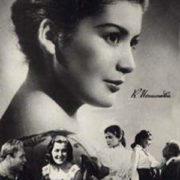 Roles of Soviet theater and film actress Kyunna Ignatova