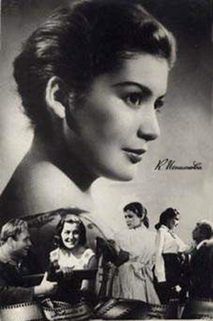 Roles of Soviet theater and film actress Kyunna Ignatova