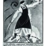 Soviet social poster of Perestroika time