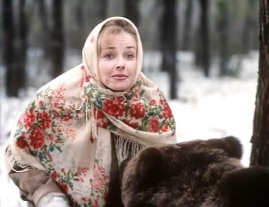 Soviet Russian actress Irina Feofanova