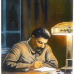 Soviet graphic artist Viktor Ivanovich Govorkov