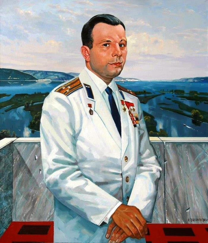 Yuri Gagarin, portrait