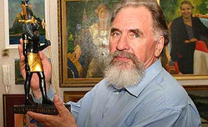 Soviet Russian artist Rudolf Baranov