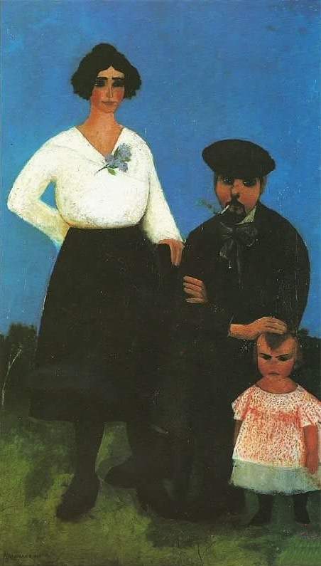 A family of artist. 1922