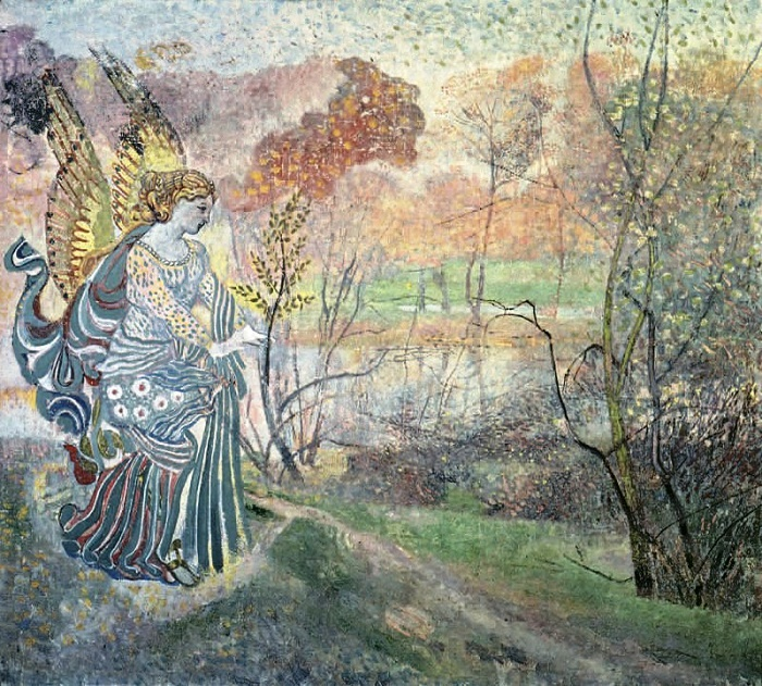 Angel of spring. 1986