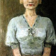 Artist Maria Granavtseva's portrait. 1935