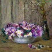 Flowers. Still life. 1955