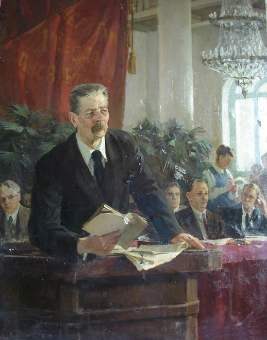 Gorky's speech at the first All-Union Congress of Soviet Writers, 1955
